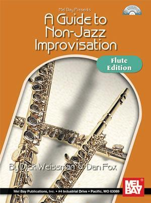 Media A Guide to Non-Jazz Improvisation:  Flute Edition  Book/CD Set