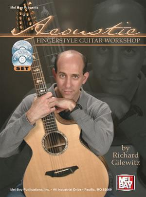 Media Acoustic Fingerstyle Guitar Workshop  Book/CD/DVD Set