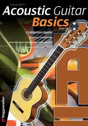 Media Acoustic Guitar Basics, French Edition  Book/CD Set