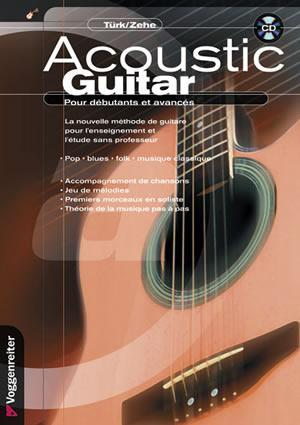 Media Acoustic Guitar, French Edition  Book/CD Set