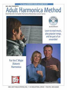 Media Adult Harmonica Method  Book/CD Set