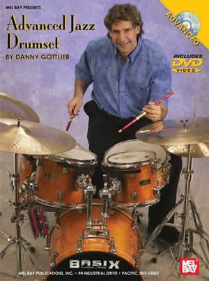 Media Advanced Jazz Drumset  DVD/Chart Set