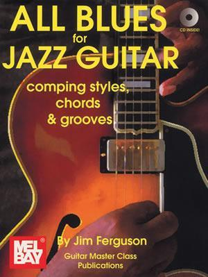 Media All Blues for Jazz Guitar  Book/CD Set