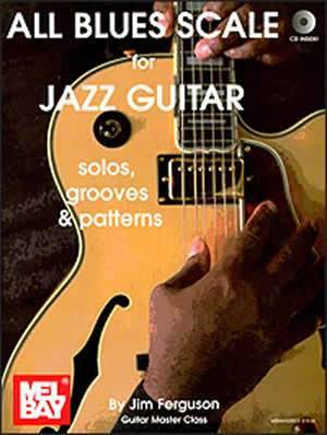 Media All Blues Scale for Jazz Guitar  Book/CD Set