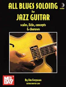 Media All Blues Soloing for Jazz Guitar  Book/CD Set
