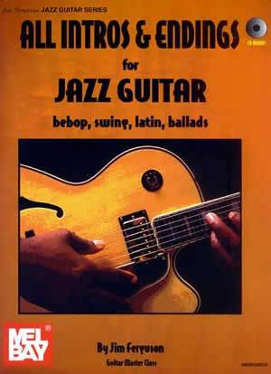 Media All Intros and Endings for Jazz Guitar  Book/CD Set