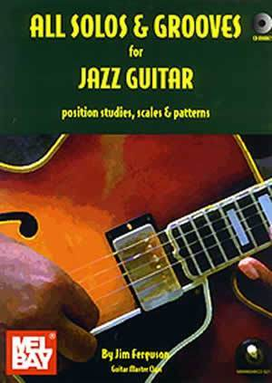 Media All Solos and Grooves for Jazz Guitar  Book/CD Set