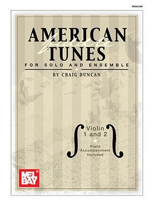 Media American Fiddle Tunes for Solo and Ensemble - Violin 1 and 2
