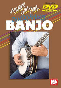 Media Anyone Can Play Bluegrass Banjo DVD