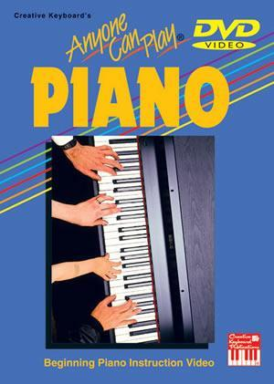 Media Anyone Can Play Piano DVD