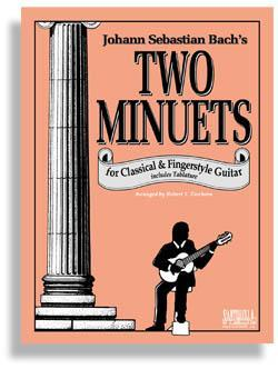 Media Bach's Two Minuets for Fingerstyle Guitar