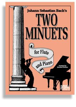 Media Bach's Two Minuets for Flute & Piano