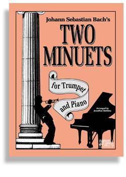 Media Bach's Two Minuets for Trumpet & Piano