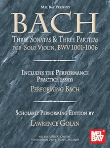 Media Bach:  Three Sonatas and Three Partitas for Solo Violin