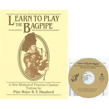 Media Bagpipe Book and CD