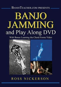 Media Banjo Jamming and Play Along DVD