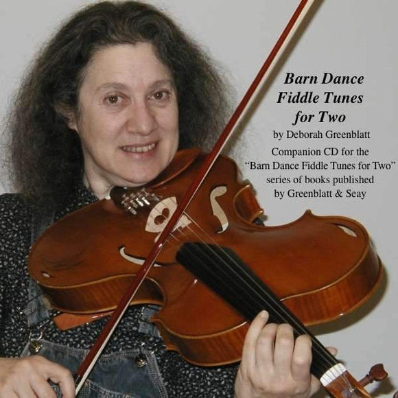 Media Barn Dance Fiddle Tunes for Two Violins CD