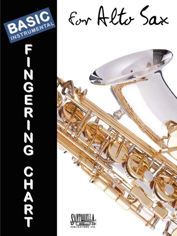 Media Basic Fingering Chart for Alto Sax