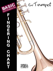 Media Basic Fingering Chart for Trumpet