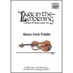 Media Basic Irish Fiddle DVD