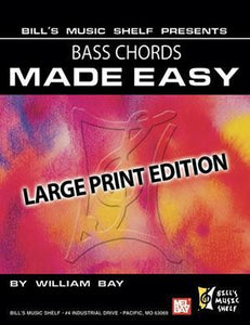Media Bass Chords Made Easy, Large Print Edition