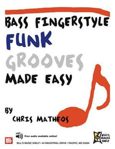 Media Bass Fingerstyle Funk Grooves Made Easy
