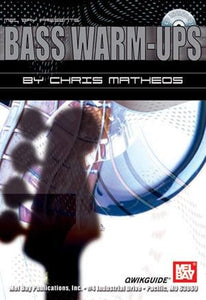 Media Bass Warm-Ups QWIKGUIDE  Book/CD Set