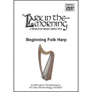 Media Beginning Folk Harp DVD
