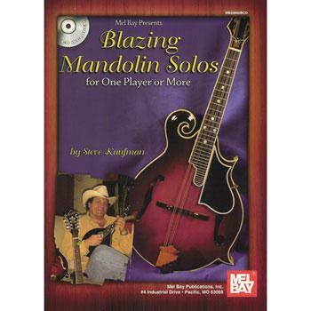 Media Blazing Mandolin Solos for One Player or More