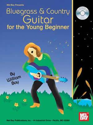 Media Bluegrass & Country Guitar for the Young Beginner  Book/CD Set