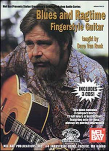 Media Blues and Ragtime Fingerstyle Guitar Book/3-CD Set