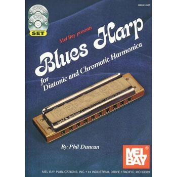 Media Blues Harp for Diatonic and Chromatic Harmonica