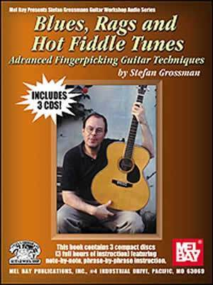 Media Blues, Rags & Hot Fiddle Tunes   Book/3-CD Set