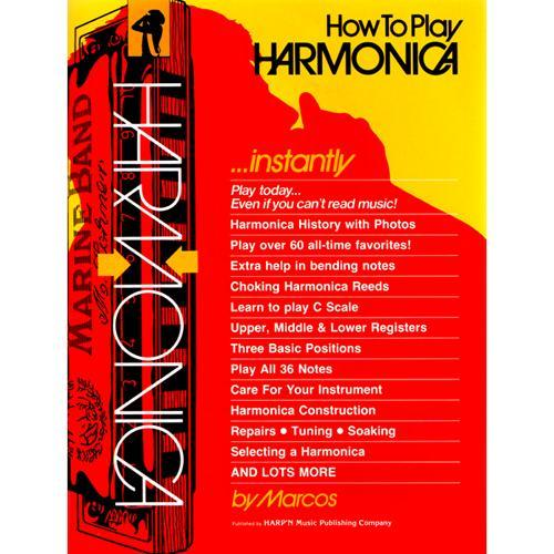 Media Book : How To Play The Harmonica Instantly