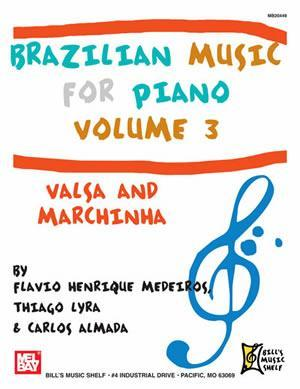 Media Brazilian Music for Piano, Volume 3