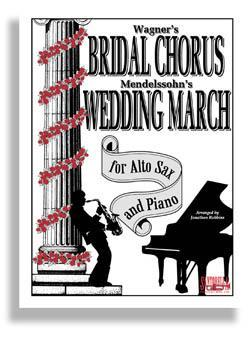 Media Bridal Chorus & Wedding March for Alto Sax & Piano