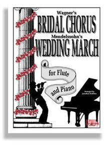 Media Bridal Chorus & Wedding March for Flute & Piano