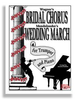 Media Bridal Chorus & Wedding March for Trumpet & Piano