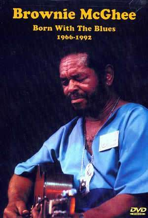 Media Brownie McGhee Born with the Blues - 1966-1992  DVD