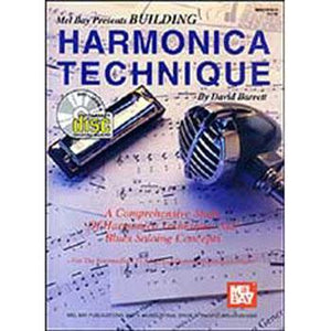 Media Building Harmonica Technique Book and CD Package