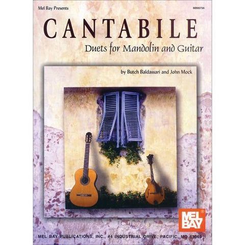 Media Cantabile, Duets for Mandolin & Guitar