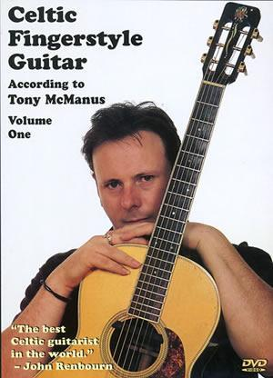 Media Celtic Fingerstyle Guitar According to Tony McManus, Volume 1  DVD