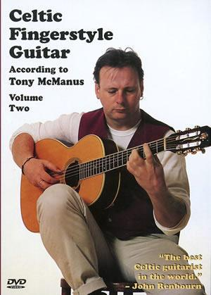 Media Celtic Fingerstyle Guitar According to Tony McManus, Volume 2  DVD