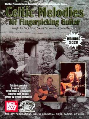 Media Celtic Melodies for Fingerpicking Guitar  Book/3-CD Set