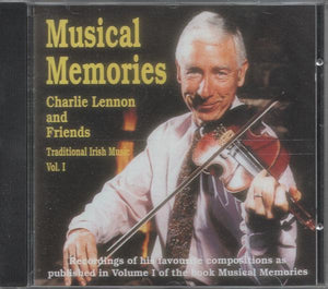 Media Charlie Lennon : Musical Memories Companion CD