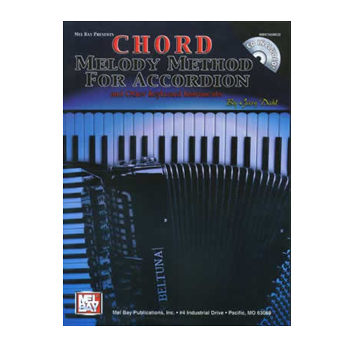 Media Chord Melody Method for Accordion  Book/CD Set