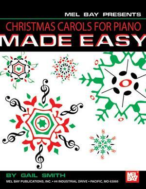 Media Christmas Carols For Piano Made Easy