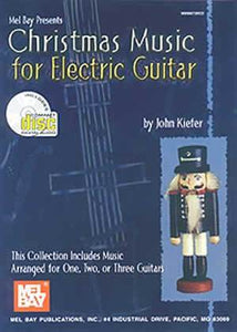 Media Christmas Music for Electric Guitar  Book/CD Set