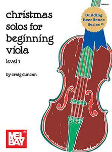 Media Christmas Solos for Beginning Viola