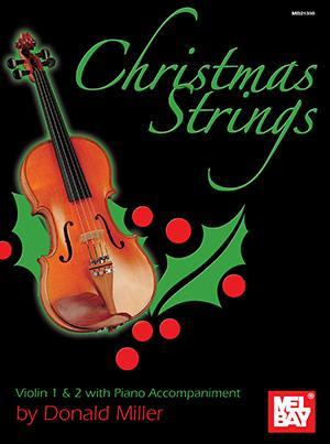 Media Christmas Strings:  Violin 1 & 2 with Piano Accompaniment